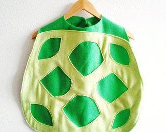Turtle Cape, Kids Halloween Costume, Dress Up Cape, Turtle Costume