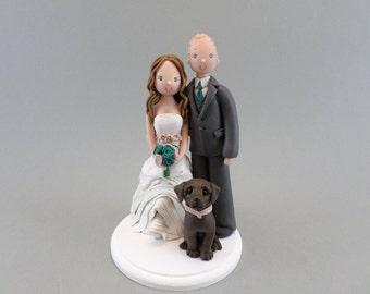 Customized Bride & Groom Wedding Cake Topper