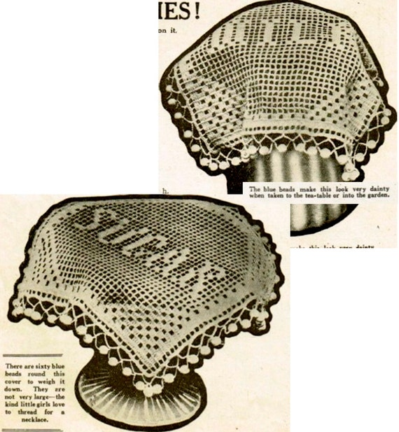 Items similar to INSTANT DOWNLOAD-Vintage crochet pattern ...