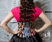 Ice Cream UnderBust Corset and Skirt Combo