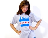 Chicago Skyline Youth T-shirt - Midwest Pride Collection