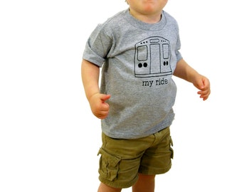 My Ride- Urban Toddler Tee