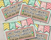 May Visiting Teaching Goodie Tags- (4) 3.5x5 Cards- Instant download