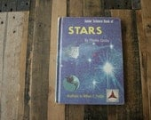 Vintage Recycled Sketch Book - Stars