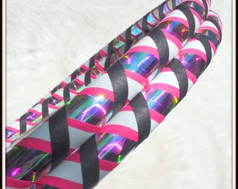 Design Your Own 'GLOW In The DARK Weave' Travel Hula Hoop - Choose From the LARGEST Tape Selection on Etsy.