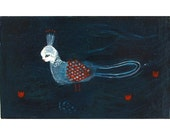 little bird of paradise - limited edition print