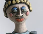Sculpted Figure, Human Form, Goddess, Woman Sculpture, Female