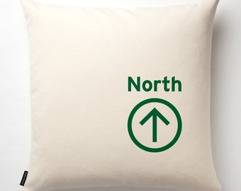 North Pillow in Off White with fill