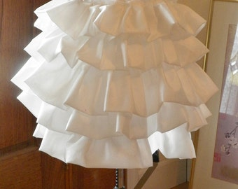 Victorian Bustle Tournure Late 1800's Bustle Dress Costume with Ruffles for Natural form Dresses and More