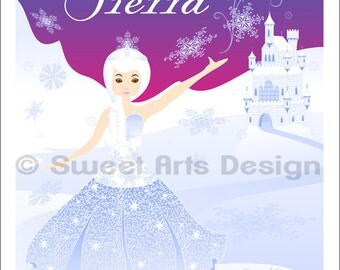 Ice Princess  -  Wall Print (or)  Greeting Cards