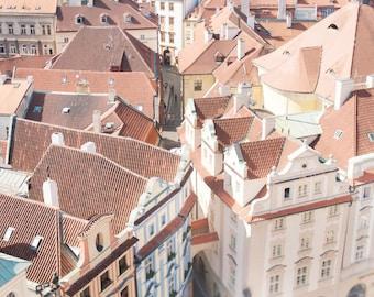 Europe Photography - Prague Old Town, Czech Republic, Large Wall Art, Travel Art Home Decor