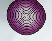 Polymer Clay Spiral Cane, Swirl Cane, Raw Cane, Pink