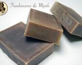 Frankincense and Myrrh Goat Milk Soap