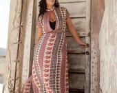 Long Dress, Wide Fit, Comfortable, Oriental, Caftan Kaftan Dress, Galabeya , Cotton Caftan, Beach Caftan, Lounging Kaftan,Galabiya,
