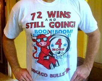 Chicago Bulls 1994 Back to Back Champions vintage T-shirt - size large