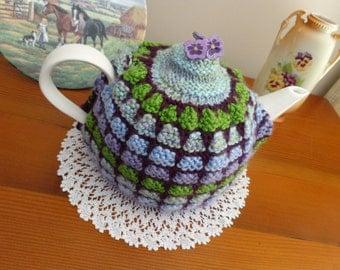 Vintage Tea Cosy Knitting Pattern - Heather Holly Henry Tea Cosy PDF