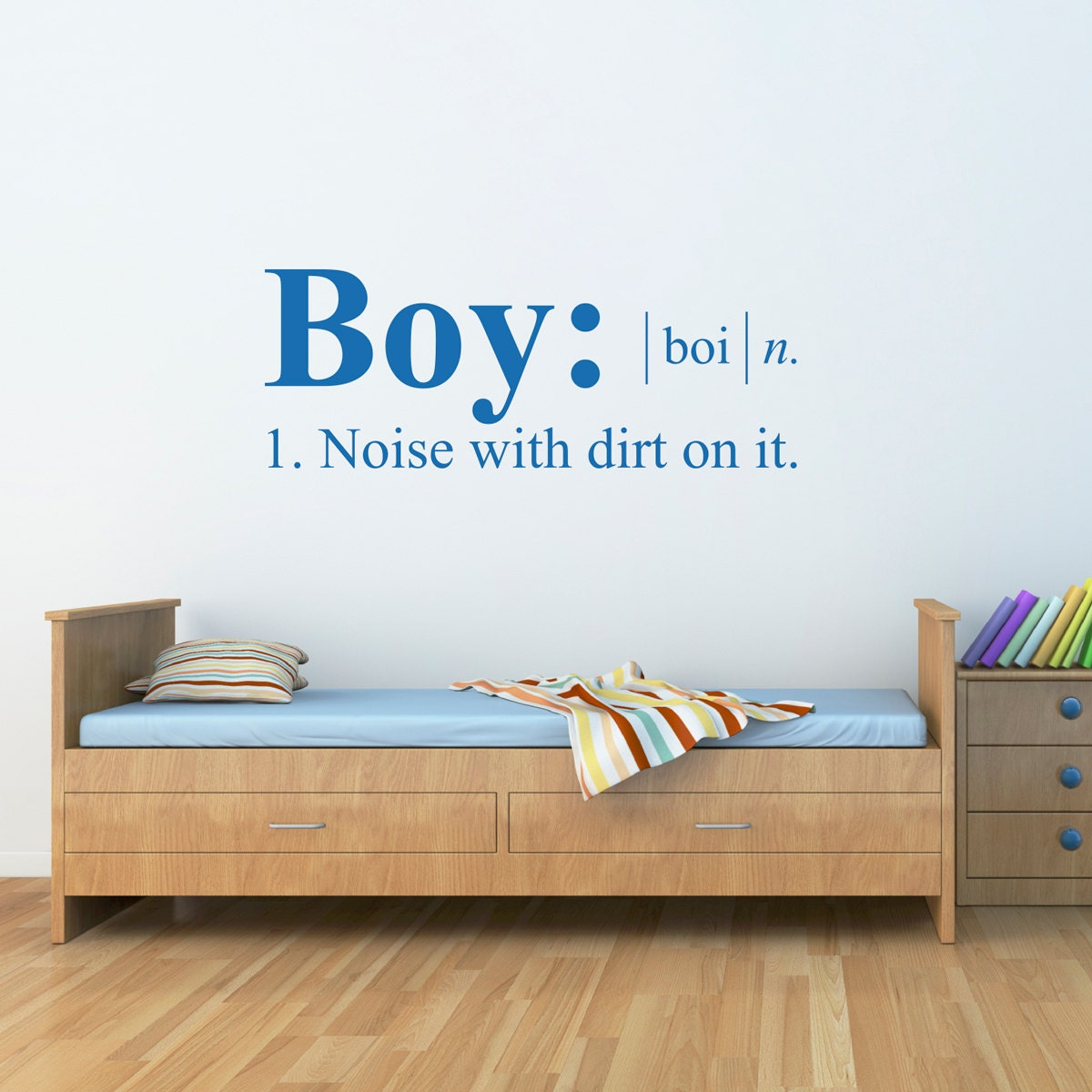 boy definition wall decal dictionary definition decal boy. Black Bedroom Furniture Sets. Home Design Ideas