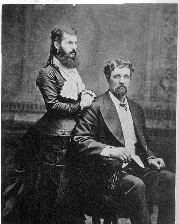 Unusual victorian men beards edwardian bearded lady for Odd victorian names