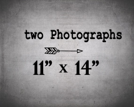 Set of 2 Prints / 11x14 Photography set / Wall Art / 2 Photo Set