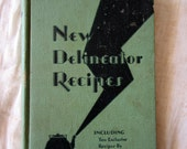 1930 New Delineator Recipes Cookbook with Pictures