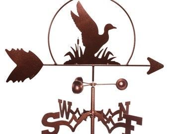 Hand Made Duck Mallard Wildlife Weathervane NEW