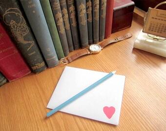 Printable Envelope Digital Download Valentine envelope with heart DIY envelope Instant Download matches tapir off valentine card in my shop