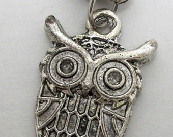 OWL dangle charm for European style bracelet