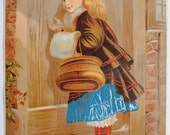 Victorian - 10 x 14 Inch LARGE Advertising Print/ Poster - Martin's