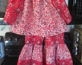 Custom Ruffle Pants Outfit