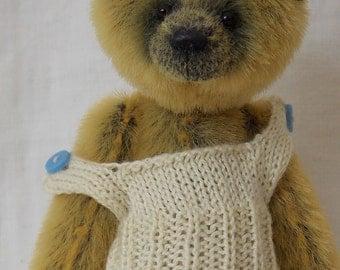 Sebastian Miniature Teddy Bear E-pattern