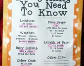 12-Month, Date Night Kit Printables