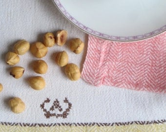 Vintage Swedish Handwovens: Guest Towel A
