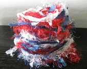 Stars And Stripes Art Fiber Bundle Card