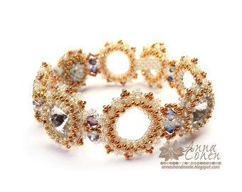 Gold and sparkles bracelet FREE SHIPPING