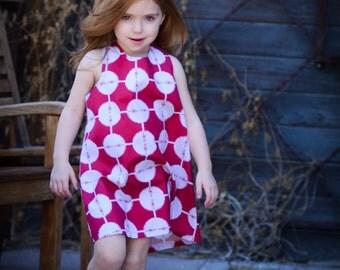 READY TO SHIP- Girls Bohemian Dress, Size 4t