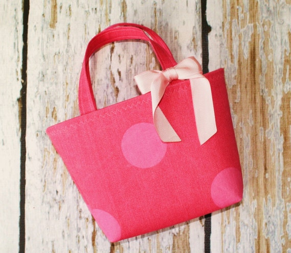 Pretty In Pink Toddler Tote - Can Be Personalized