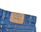Vintage Unisex LEVI'S LEVIS Straight Leg 509 Jeans Size 29x27 Tag 31x30 Made In USA Orange Tag
