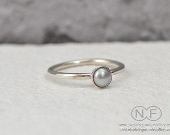 Freshwater Pearl Stacking Ring