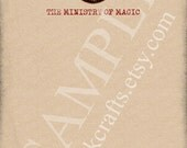 Latin Seal of the Ministry of Magic Ignorantia Juris Neminem Excusat Harry Potter Stationery