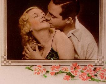 French Romantic Unused Postcard - Ecstasy