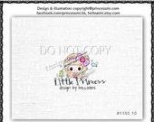 Premade Logo Design / Custom Girl logo/  boutique logo design / sketch logo design /  boutique logo by princess mi logo1165-10