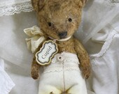 Cupid bear Pattern, Instructions for the little bear and pants. NEW DIGITAL FILE.