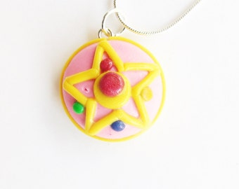 Sailor Moon Crystal Star Compact Necklace