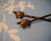 Tiny Turtle Bobby Pins
