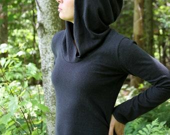 Element Hooded Top- Organic Hemp/Cotton