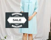 60s Dress and Jacket with Floral Detail - Small