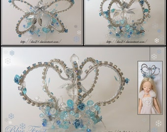 The blue frost crown for BJD