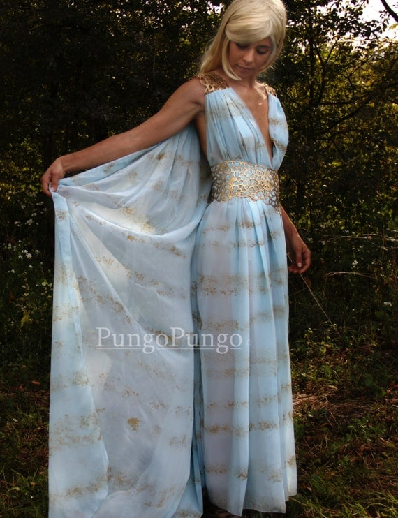 RESERVED. Daenerys Targaryen Qarth Dress Khaleesi Costume