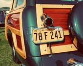 Classic Retro Studebaker Woody - Seen in Etsy Finds - Classic Car Art - Surf Inspired Home Decor - Beach Art - Fine Art Photography