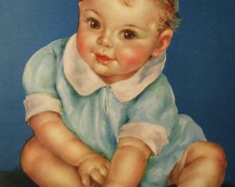 Ten Little Fingers Charlotte Becker Calendar Art Print